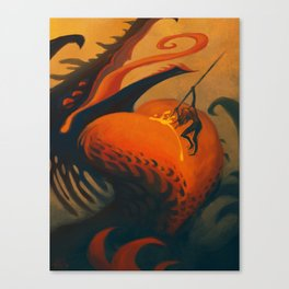 The Downfall of Passion Canvas Print