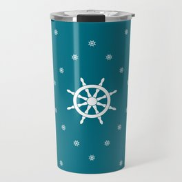 White Stars Travel Mug