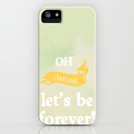 Oh Darling! iPhone Case