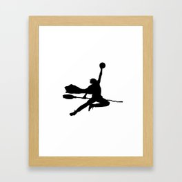 #TheJumpmanSeries, Airy Potter Framed Art Print
