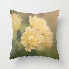 """Every man's life is a fairy tale written by God's fingers"" -- Hans Christian Andersen Throw Pillow"