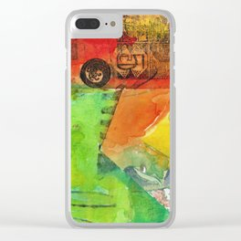 A color-washed life 5 Clear iPhone Case