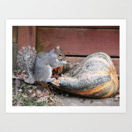 This is a bit chewy... Art Print