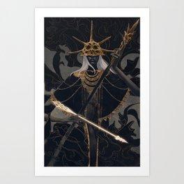 Aldrich (Dark Souls) Art Print