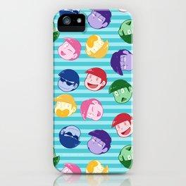 Matsu Bros iPhone Case