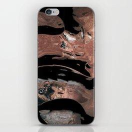 Black desert waters iPhone Skin