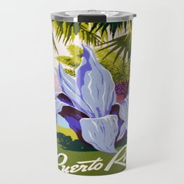 Vintage poster - Puerto Rico Travel Mug
