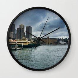 Sydney Ferry Terminal Wall Clock