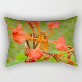 """Flame of the Plain"" by ICA PAVON Rectangular Pillow"