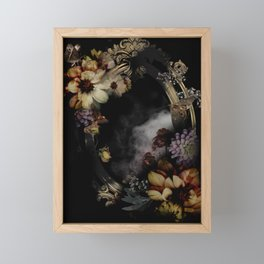 FERAL Framed Mini Art Print