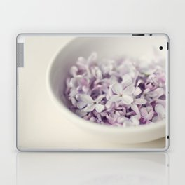 Bowl of Lilacs Laptop & iPad Skin