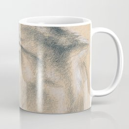 Wild Souls Snuggling Wolves Drawing Coffee Mug