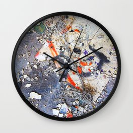 Broken Ensemble Wall Clock