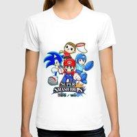 super smash bros T-shirts featuring Super Smash Bros  by Blaze-chan