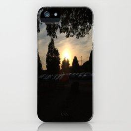 The Light Is On The Other Side iPhone Case