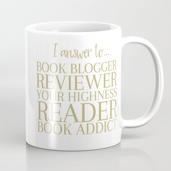 I Answer To Book Blogger Mug