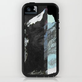 Twin peaks_ charcoal iPhone Case