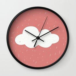 Day Rain Wall Clock
