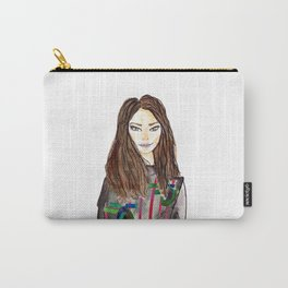 Fashion Illustration -Abigale Carry-All Pouch