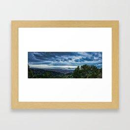 Grizzly Peak Framed Art Print