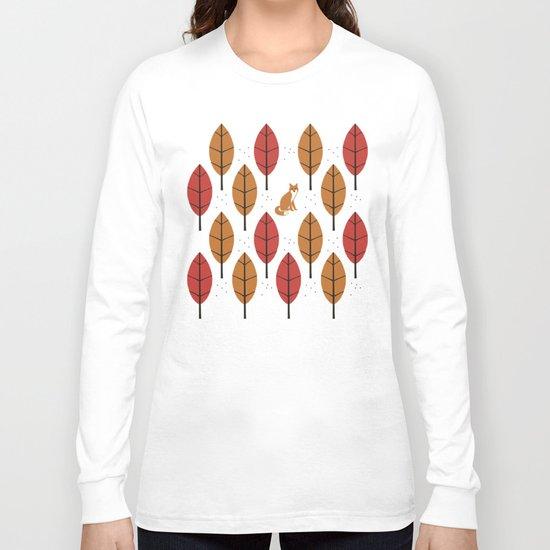 Autumn Fox Long Sleeve T-shirt