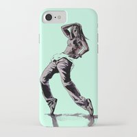 hiphop iPhone & iPod Cases featuring B GIRL by ARTito