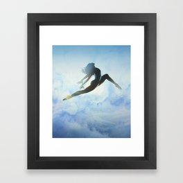 Dancer's Leap Framed Art Print