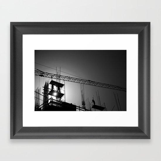 Building Buildings Framed Art Print