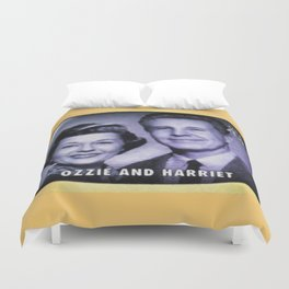 Ozzie and Harriet Duvet Cover