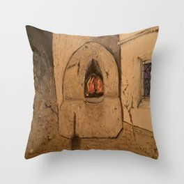 Traditional Moroccan Oven Throw Pillow