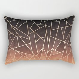 Shattered Ombre Rectangular Pillow