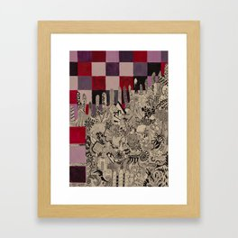 Ataxia Framed Art Print
