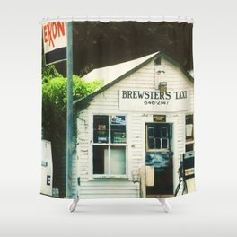 Brewsters Taxi Shower Curtain