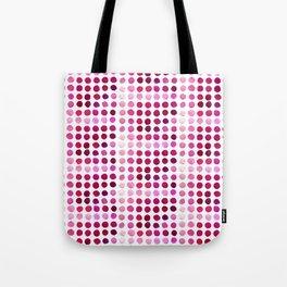 Pink Pink Polka Pink Tote Bag