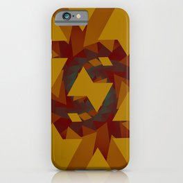 Interlocked Geometry iPhone Case
