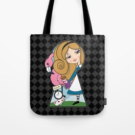 The Entrance to Wonderland Tote Bag
