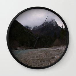Koritnica River Wall Clock
