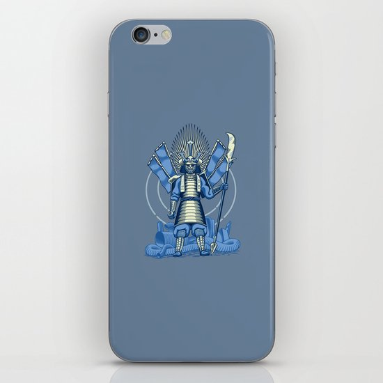 Samurai Nightmare iPhone Skin