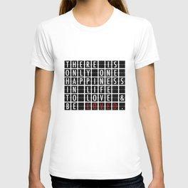 Destination Sign Love T-shirt