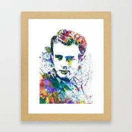 JamesDean Framed Art Print