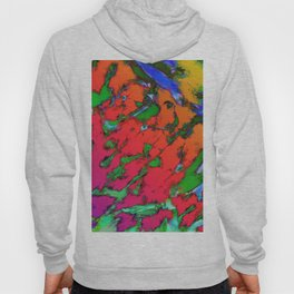Shattering red tigers Hoody