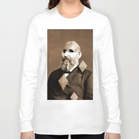 weird Long Sleeve T-shirts featuring Weird by Bakus