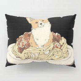 dog in pastabolognese Pillow Sham