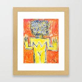 la Chance de Voir. Framed Art Print