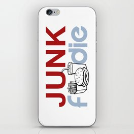 I HEART Junk Food iPhone Skin