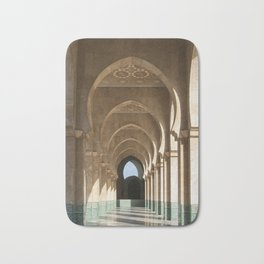 Hassan II Mosque Arcade, Casablanca Bath Mat