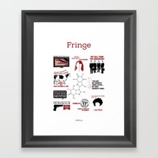 Fringe Quotes Framed Art Print