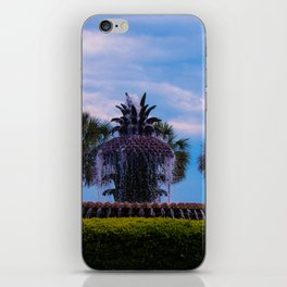 Pineapple Fountain iPhone Skin
