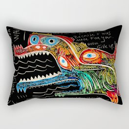 Hold on to your dreams Street Art Graffiti Rectangular Pillow