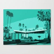 Twin Palms 3 Canvas Print